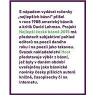 Nejlepší české básně 2015 - Kniha
