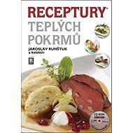 Receptury teplých pokrmů + CD ROM - Kniha