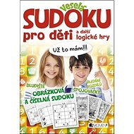 Veselá sudoku pro děti a další logické hry - Kniha