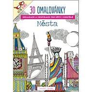 3D omalovánky Města - Kniha
