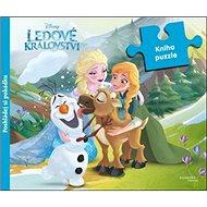 Ledové království Kniha puzzle: poskládej si pohádku - Kniha