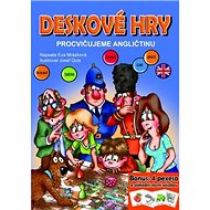 Deskové hry Procvičujeme angličtinu: Bonus: 4 pexesa se základí slovní zásobou - Kniha