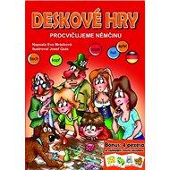 Deskové hry Procvičujeme němčinu: Bonus: 4 pexesa se základí slovní zásobou - Kniha