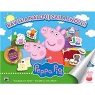 Bav se a nalepuj zas a znovu! Peppa Pig - Kniha