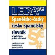 Španělsko-český a česko-španělský slovník obchodního právo a finance - Kniha