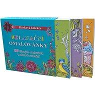 Relaxační omalovánky box: Dárková kolekce - Kniha