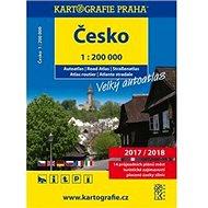 Česko Velký autoatlas 1:200 000: 2017/2018 - Kniha