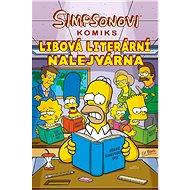 Simpsonovi Libová literární nalejvárna - Kniha
