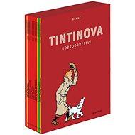 Tintinova dobrodružství 1-12 BOX