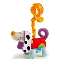 Vibrating dog - Crib Toy