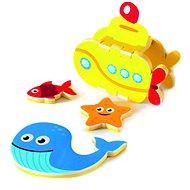Foam Bath Module - Submarine - Water Toy