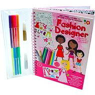 Drawing book with stickers - Fashion designer - Creative Kit