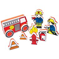 Foam kit for tub - Fire brigade - Water Toy