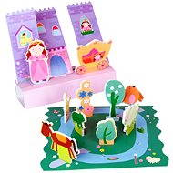 Set of foam toys in the bath - Fairytale lock - Water Toy