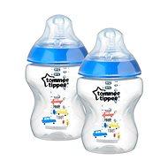 Kojenecká láhev s obrázky C2N 260 ml 2 ks - modrá - Dětská láhev