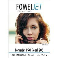 FOMEI Jet PRO Pearl 205 A4 - balení 20ks + 5ks zdarma - Fotopapír