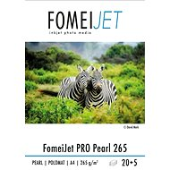 FOMEI Jet PRO 265 Pearl A4 - Packung 20 Blatt + 5 Blatt gratis - Fotopapier