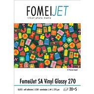 FOMEI Jet SA Vinyl Glossy A4 - balení 20ks + 5ks zdarma - Fotopapír