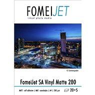 FOMEI Jet SA Vinyl Matte 280 A4 - balení 20ks + 5ks zdarma - Fotopapír
