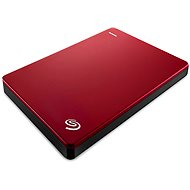 Seagate BackUp Plus Portable 2000GB červený+ 200GB OneDrive