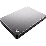 Seagate BackUp Plus Slim Portable 2TB stříbrný+ 200GB OneDrive