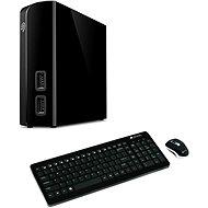 Seagate BackUp Plus Hub 4TB + 2x USB, černý + Canyon CNS-HSETW3 CZ - Externí disk