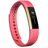 Fitbit Alta, groß, Pink/Gold