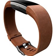 Fitbit Charge 2 Leather Band Brown Large
