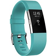 Fitbit Charge 2 Large Teal Silver
