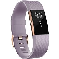 Fitbit Charge 2 Small Lavender Rose Gold - Fitness Bracelet -