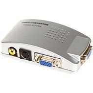 PremiumCord Converter, S-video / Cinch/ VGA