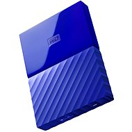 "WD 2.5 ""1TB My Passport-blau"