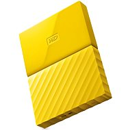 "WD 2.5 ""1TB My Passport-gelb"