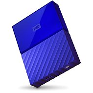 "WD 2.5 ""My Passport 4TB blau"