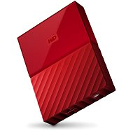 "WD 2.5 ""My Passport 4TB red"