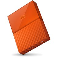 "WD 2.5 ""My Passport 4TB Orange - Externe Festplatte"