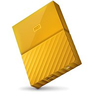"WD 2.5 ""My Passport yellow 4TB"