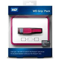 WD Grip Pack 500GB/1TB Fuschia, růžový