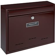 G21 Poštovní schránka RADIM velká 310x360x90mm hnědá - Poštovní schránka