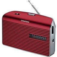 GRUNDIG Music 60 červená - Přenosné rádio