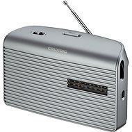 GRUNDIG Music 60 stříbrná - Přenosné rádio