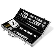 Activa five-part stainless steel barbecue tool set