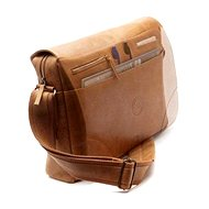 "dbramante1928 Messenger Bag 15,6 ""goldenes Brown"