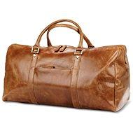 dbramante1928 Kastrup 2 Weekender Dark Tan - Cestovní taška