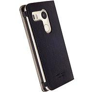 Krusell MALMÖ FolioCase pro LG Nexus 5X černé - Pouzdro na mobilní telefon