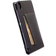 Krusell KALMAR WALLETCASE pro Sony Xperia M4 Aqua/M4 Aqua Dual, černé