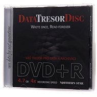 Médiá DATA TRESOR DISC DVD+R 1 ks v škatuľke