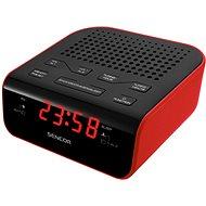 Sencor SRC 136 RD čierno-červený - Rádiobudík