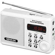 Sencor SRD 215 W White - Radio