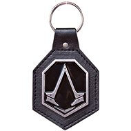 Assassin's Creed Syndicate - Pu Keychain with Metal Logo Patch - Klíčenka